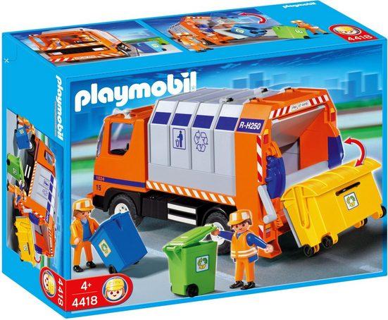 Playmobil® Konstruktions-Spielset »Müllabfuhr (4418), City Action«