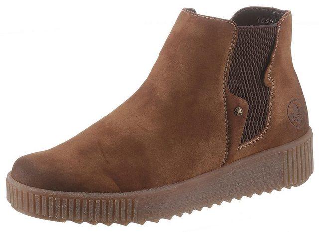 Rieker Chelseaboots im sportiven Design | Schuhe > Boots > Chelsea-Boots | Rieker