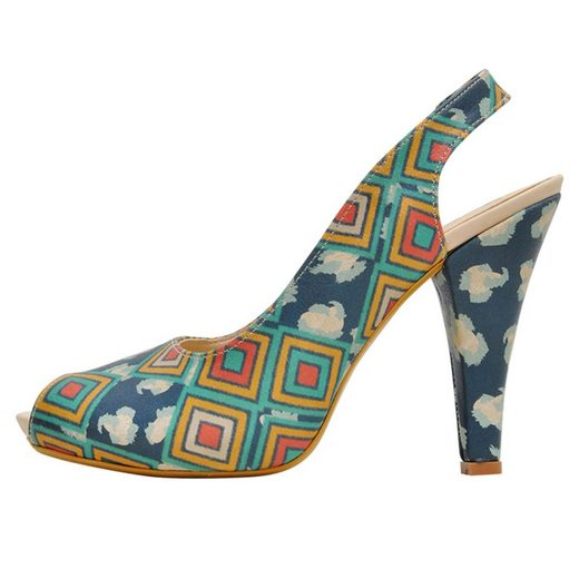 DOGO »Leoneo« High-Heel-Pumps Vegan
