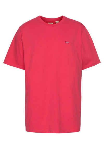 Levi's® Plus T-Shirt mit klassischer Logostickerei