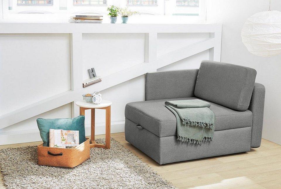 Jockenhöfer Gruppe Sessel, inkl. Bettfunktion und Bettkasten online kaufen    OTTO