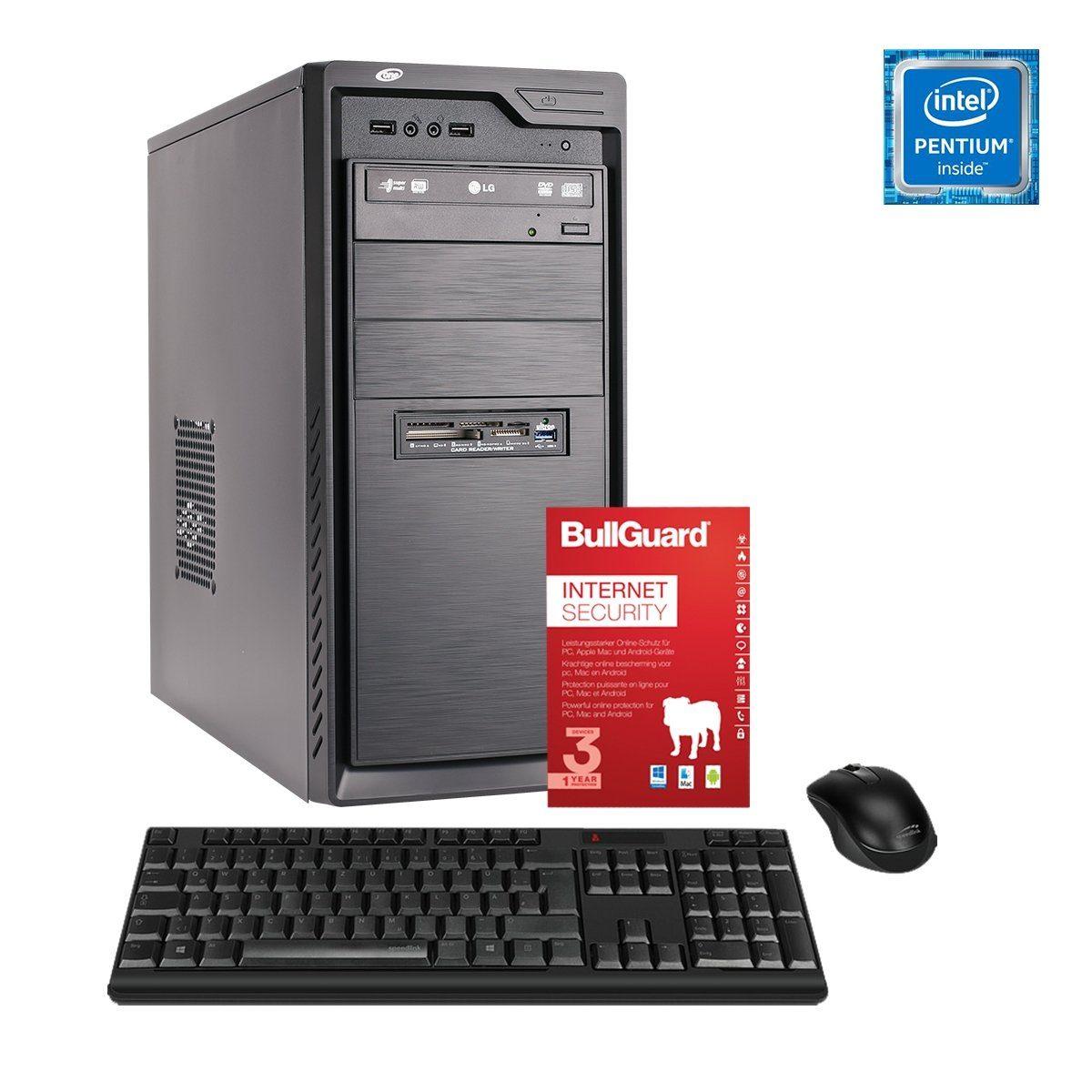 ONE PC, Pentium Gold G5600, UHD Graphics 630, 4GB »Office PC 130030«
