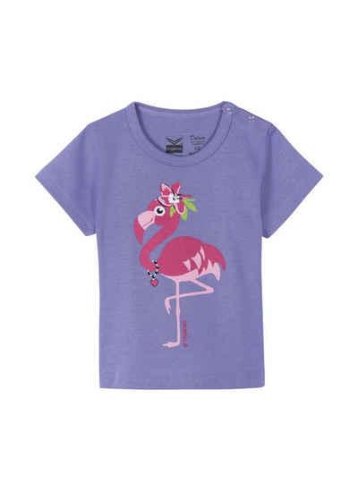 8b79e99f27365d TRIGEMA Baumwollshirt mit Flamingo