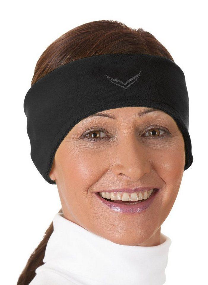 TRIGEMA Fleecestirnband   Accessoires > Mützen > Stirnbänder   Schwarz   Trigema