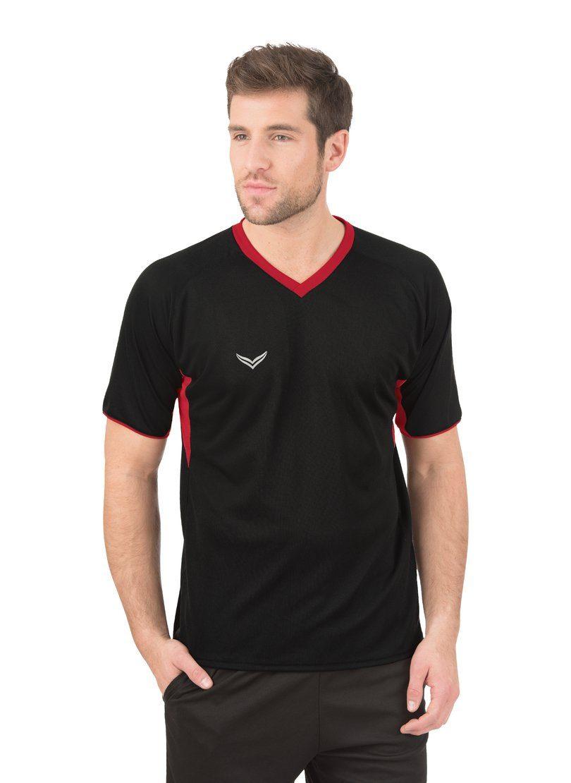 Herren Trigema Raglan-Sportshirt schwarz | 04055969015523