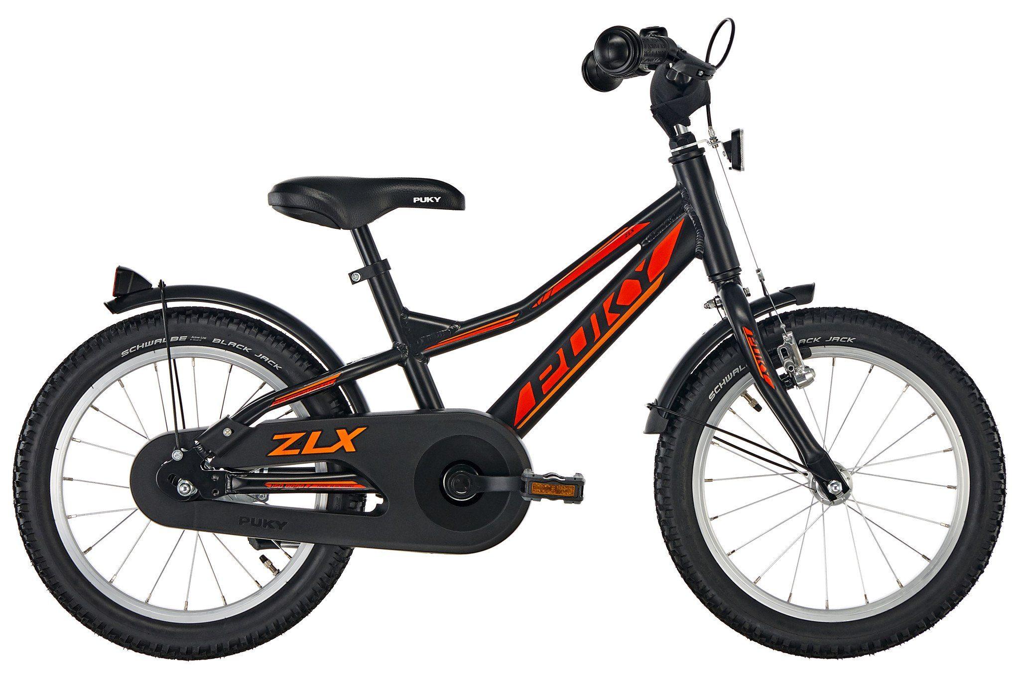 Puky Kinderrad »ZLX 16-1 Kinderfahrrad schwarz«