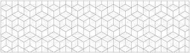 MYSPOTTI Küchenrückwand »mySPOTTIfixy Hexagon«, selbstklebende und flexible Küchenrückwand-Folie