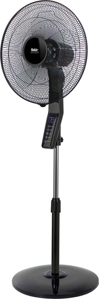 FAKIR Standventilator premium VC 46S, mit Timerfunktion, leise, oszillierend, höhenverstellbar, LED-Bedienfeld - 60 Watt