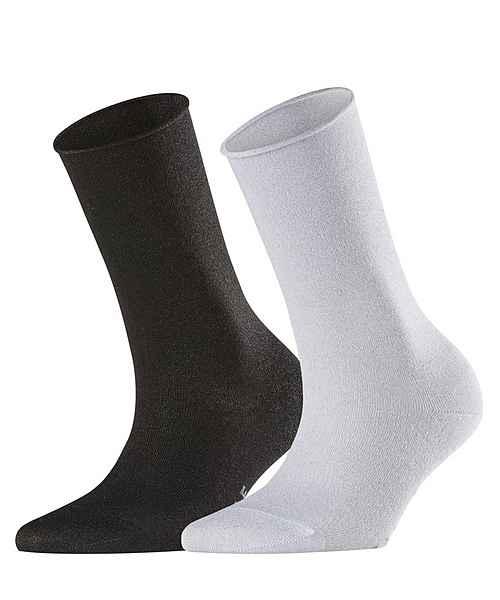 2 All mischung Glanz PaarAus Weicher Viskose Falke Bunt over acacia Mit pack«2 Socken »shiny kXPO80Nnw