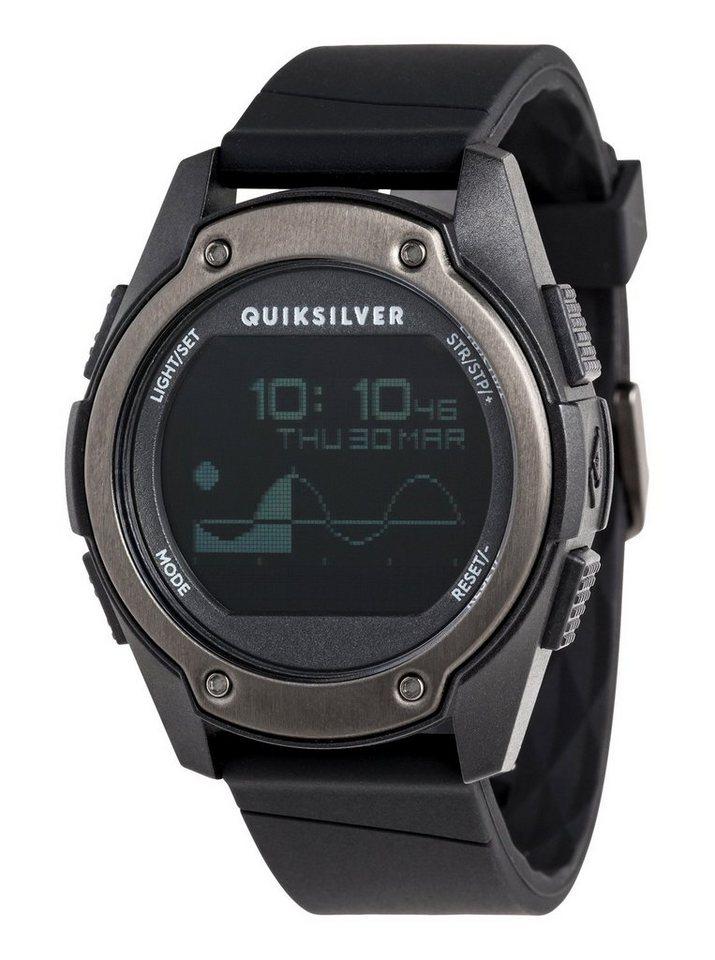 Quiksilver Digitaluhr »Stringer Tide« | Uhren > Digitaluhren | Schwarz | Quiksilver