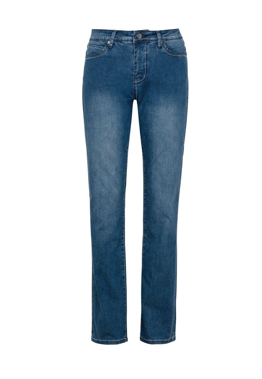 MILLION-X Gerade Jeans