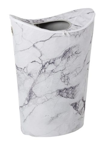 HEINE HOME Krepšys skalbiniams im Marmor-Design