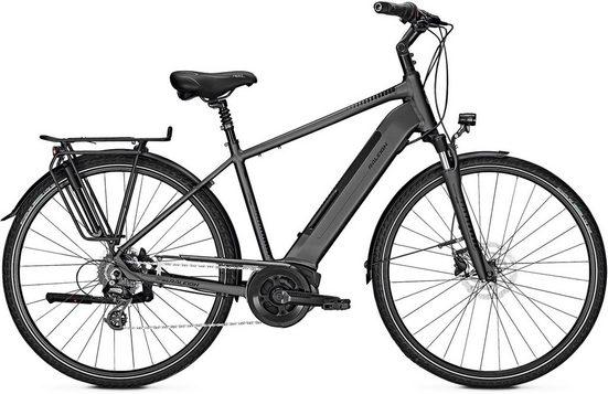 Raleigh E-Bike »Boston 9«, 9 Gang Shimano Alivio Schaltwerk, Kettenschaltung, Mittelmotor