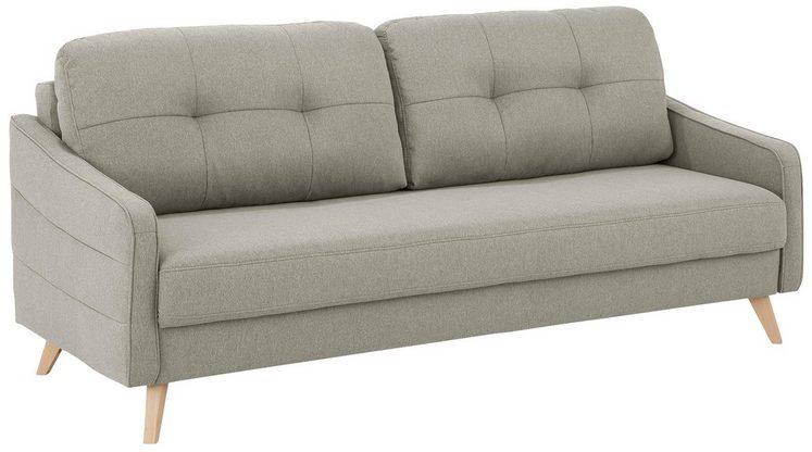 Home affaire 3-Sitzer »Sotto«, mit Schlaffunktion