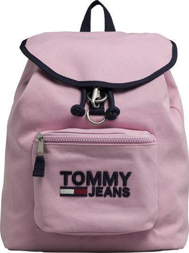 TOMMY JEANS Cityrucksack »TJW HERITAGE BACKPACK«, mit praktischer Reißverschluss-Vortasche