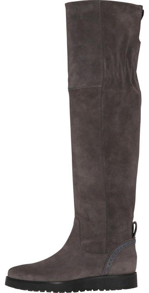 41546ebc77a2 Tommy Hilfiger Boots »ESSENTIAL SUEDE OVERKNEE BOOT« online kaufen ...