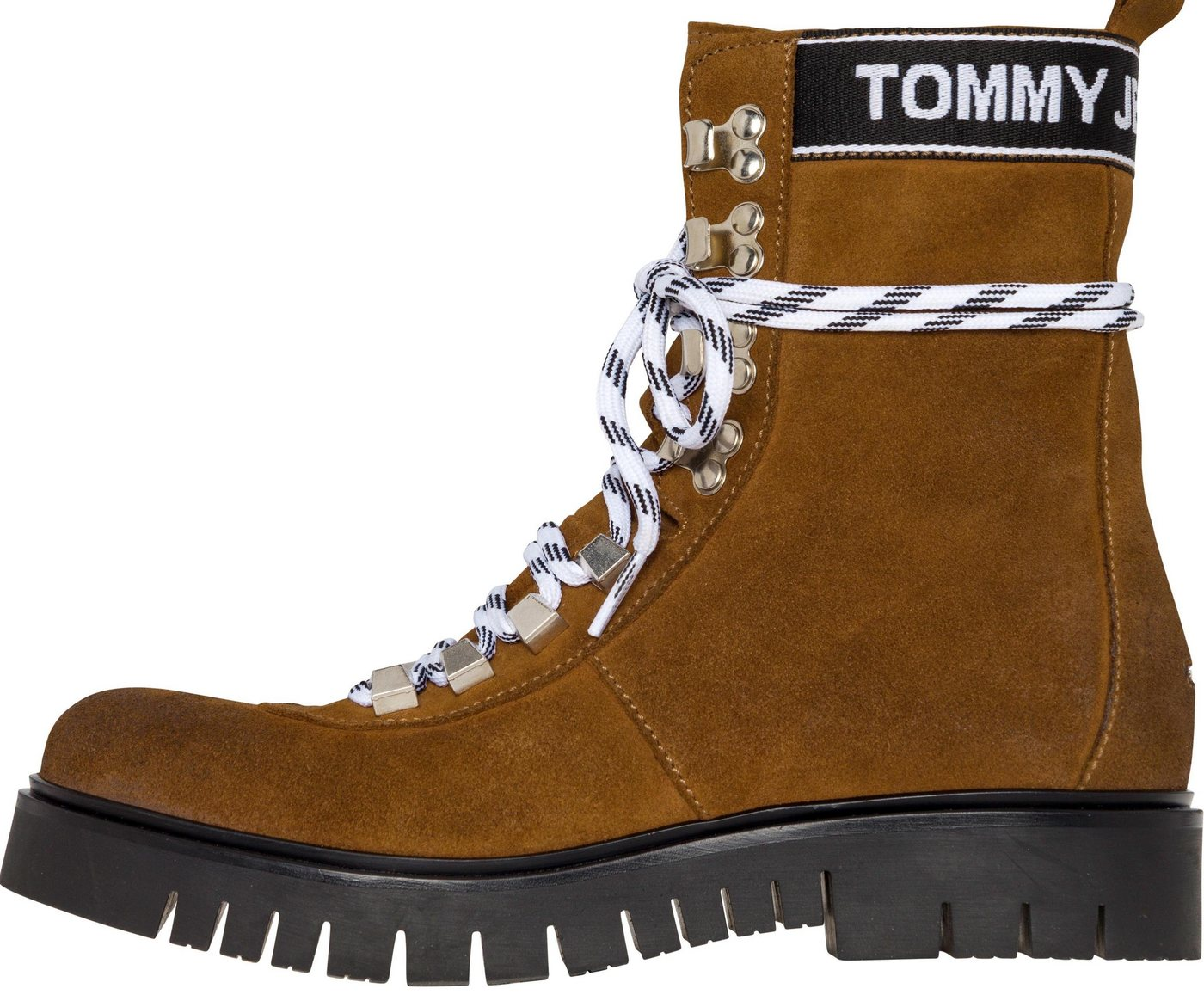Damen Tommy Jeans Boots »HIKING TOMMY JEANS BOOT« braun | 08719703736131