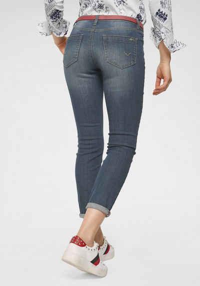 34c5b87daa832e TOM TAILOR Polo Team 7/8-Jeans mit Kontrast Streifen an der Pocket-