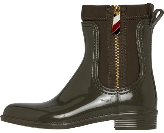 Tommy Hilfiger Boots »MATERIAL MIX RAIN BOOT«