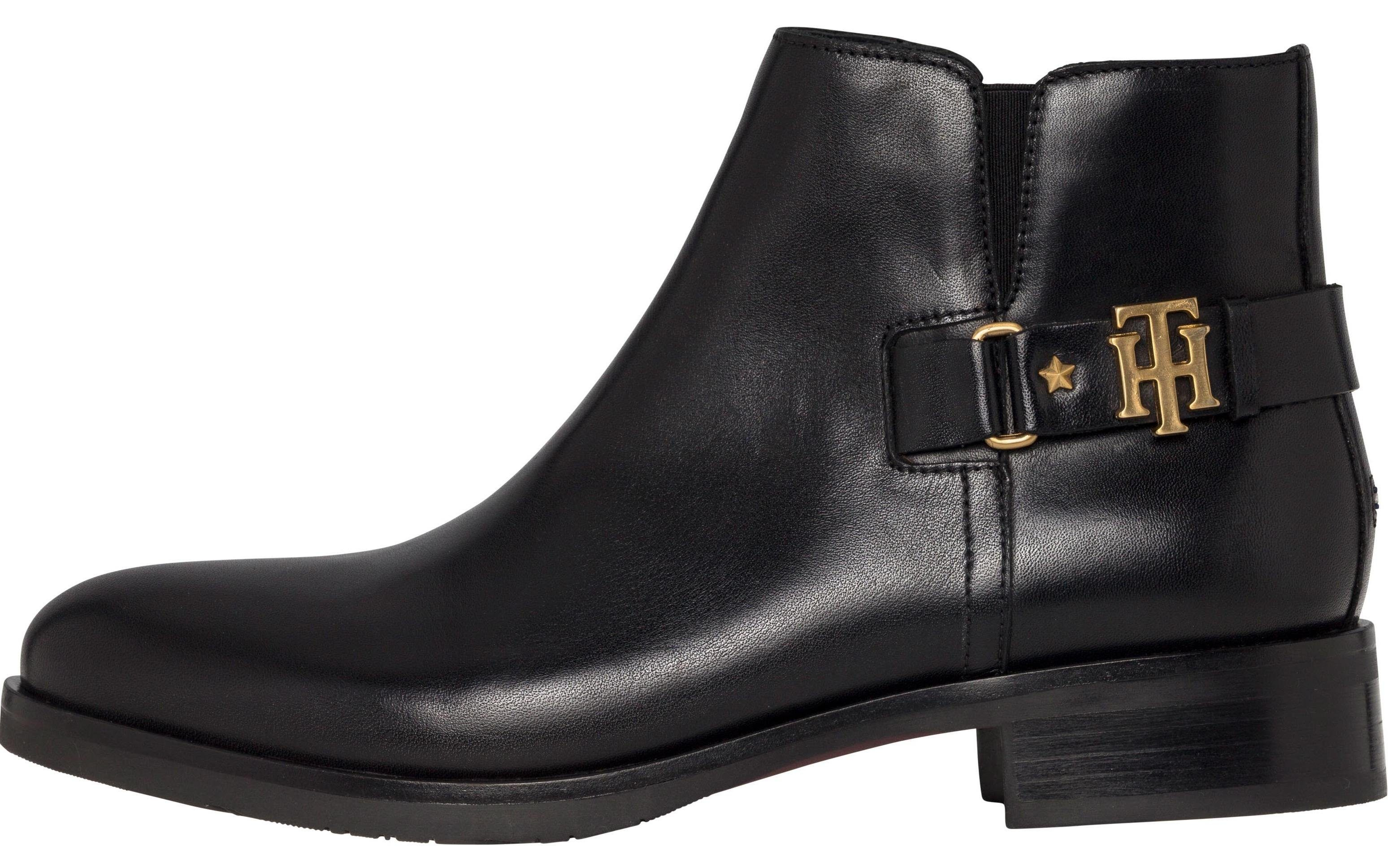 Tommy Hilfiger Boots »TH BUCKLE LEATHER BOOTIE«