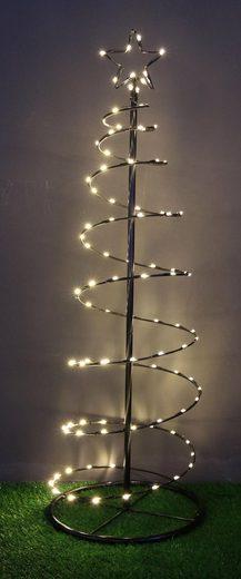 LED Baum »Spiral-Tannenbaum«, mit Sternspitze