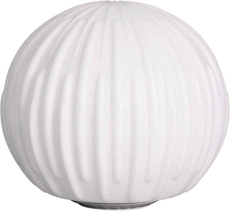 BONETTI LED Gartenleuchte »Kugelleuchte BLÜTE«, Blütenoptik, Ø 35 cm