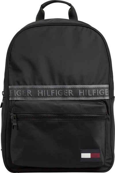 93352159d8 TOMMY HILFIGER Cityrucksack »SPORT MIX BACKPACK SOLID«, mit praktischem  Reißverschluss-Vorfach