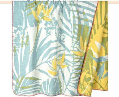 Wohndecke »Tropical«, PAD, mit Palmblättern und Hibiskus