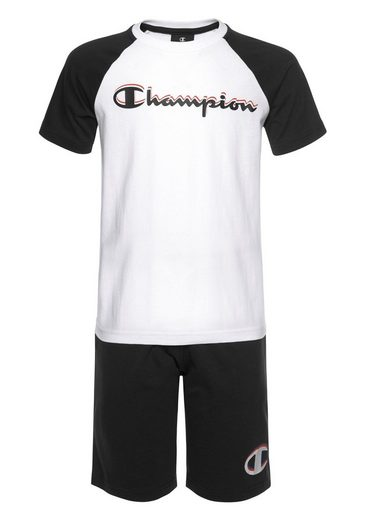 Champion T-Shirt & Shorts »SET« (Set)