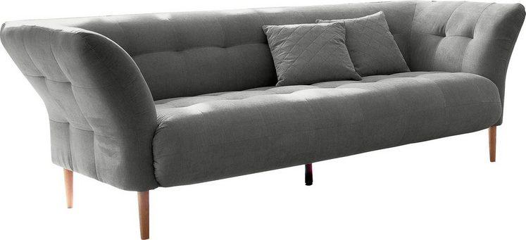andas »Trelleborg« 3-Sitzer mit feiner Steppung bei Sitz und Rückenlehne