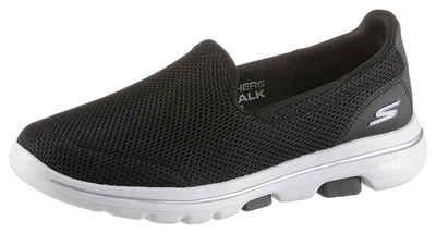 Skechers »Go Walk 5« Slip-On Sneaker mit Air Cooled Goga Mat