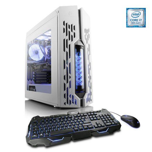 CSL Gaming PC, Intel Core i7-9700K, RTX 2060, 16 GB RAM, SSD »HydroX T5780 Wasserkühlung«