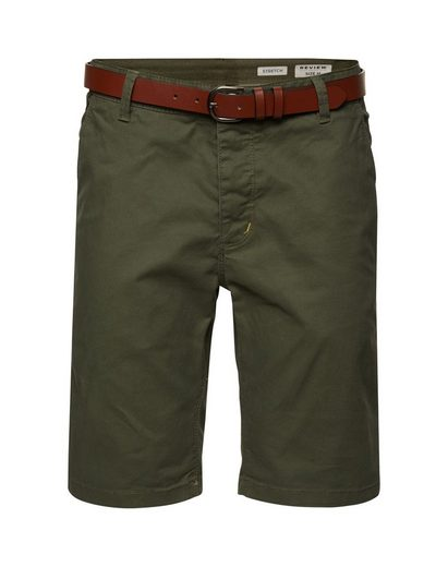 REVIEW Shorts »CHINO BASIC BELT«
