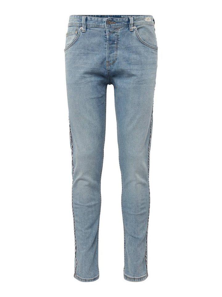 Herren TOM TAILOR Denim  Tapered-fit-Jeans CONROY blau | 04061945520745