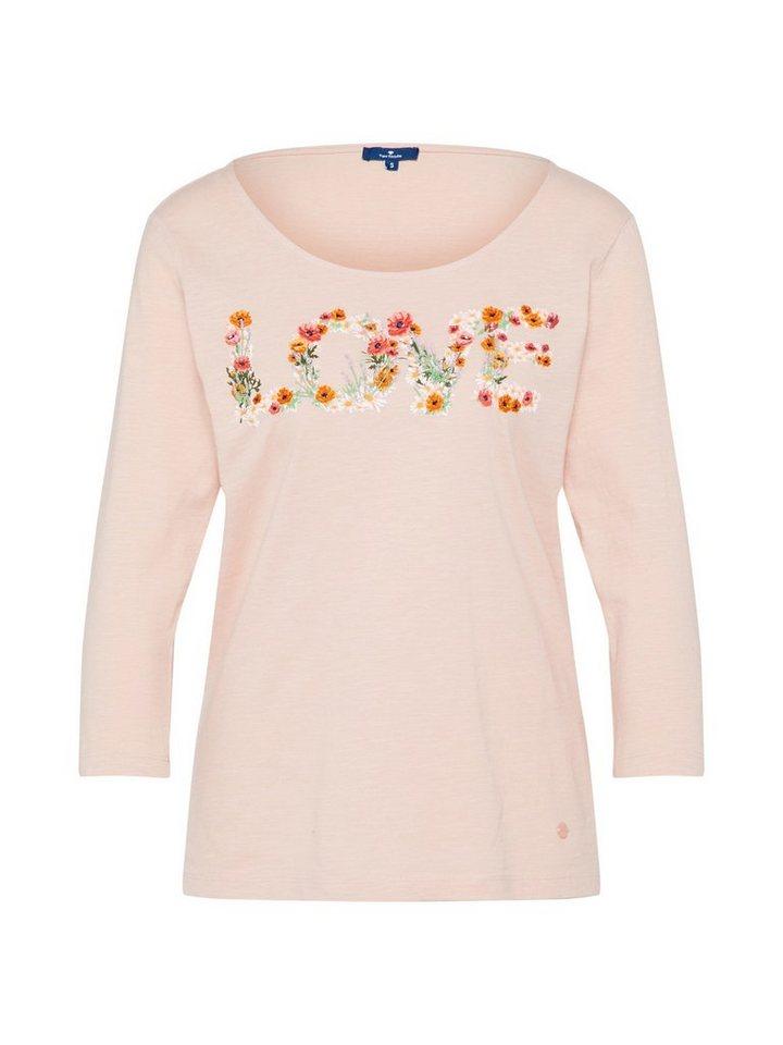 e7085adfa71d61 TOM TAILOR 3/4-Arm-Shirt Stickerei online kaufen | OTTO