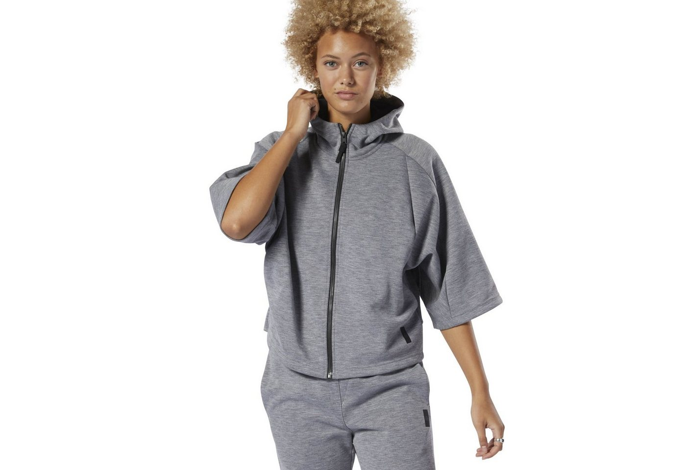 Reebok Kapuzensweatjacke »Training Supply Full-Zip Hoodie«