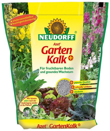 NEUDORFF Bodenverbesserer »Azet GartenKalk+«, 2,5 kg