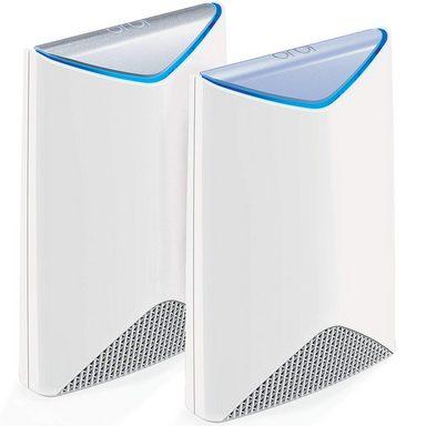 NETGEAR Orbi Pro AC3000 Tri-Band WiFi Sy »Maximieren Sie die WLAN-Geschwindigkeiten«