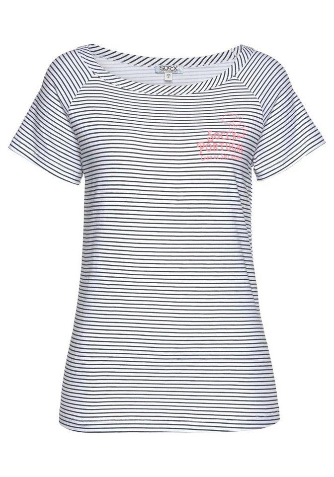 soccx t shirt mit femininem u boot ausschnitt otto. Black Bedroom Furniture Sets. Home Design Ideas