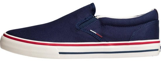 Tommy Sneaker Textile »tommy Jeans Slip On« 4qAH4O