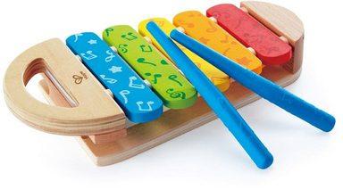 Hape Spielzeug-Musikinstrument »Regenbogen Xylophon«
