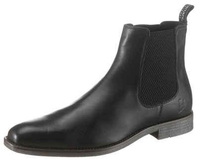 Chelsea Boots, Lochmuster, Lack Optik