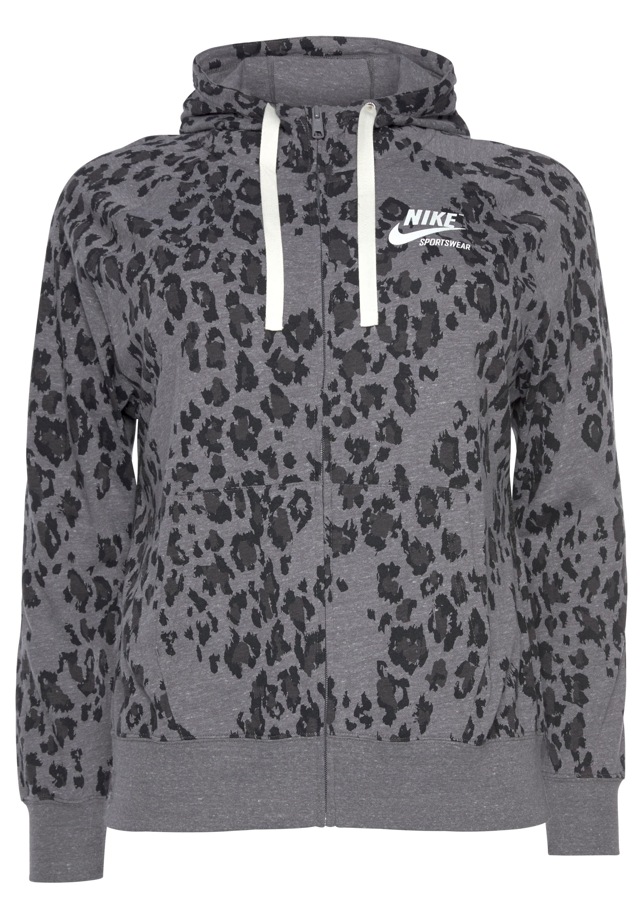 Nike Sportswear Essential W Hoodie grau meliert