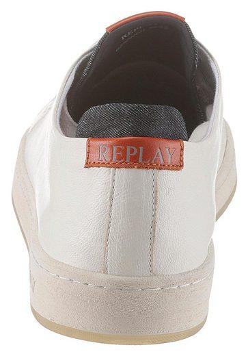 Details Verziert Mit Farbigen Sneaker Replay qwgaTnRctx