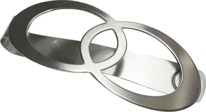 Dekospange »Raffspange Infinity Doppelring«, GARDINIA, (1-tlg), Serie Gardinenspangen / Raffspangen