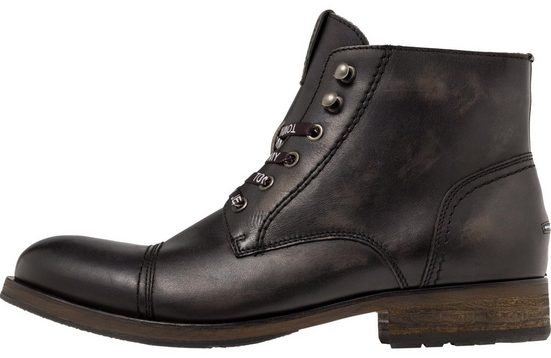 Tommy Jeans Boots »DRESSY LEATHER LACE UP BOOT«