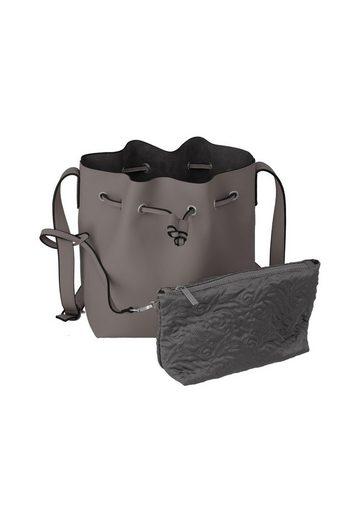 Reißverschluss Pure« Beuteltasche Herausnehmbarer Titan® »barbara Mit innentasche vxUqKOw