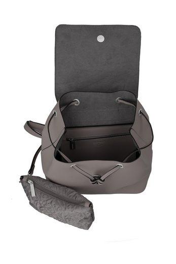 Reißverschluss Pure« Titan® Mit innentasche Cityrucksack Herausnehmbarer »barbara Tapxvpw