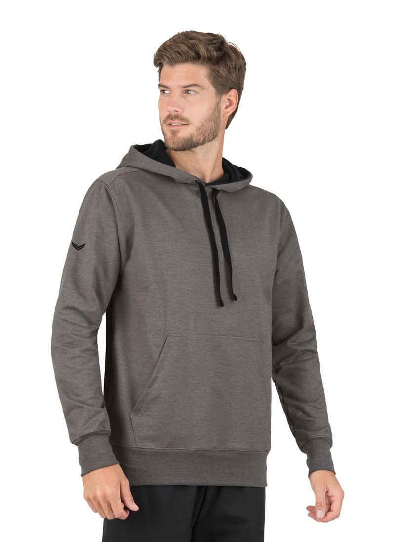 Trigema Kapuzensweatshirt aus Sweat-Qualität