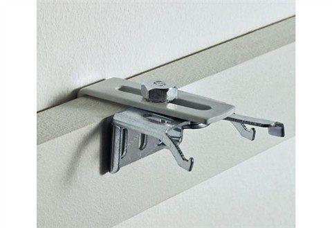 Klemmträger für Aluminium-Jalousien (2er Pack)